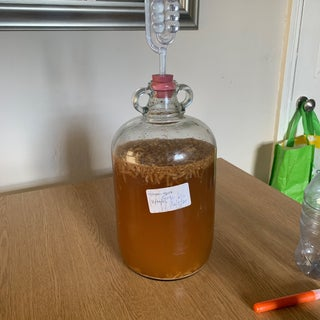 Strong Homebrew Ginger Beer