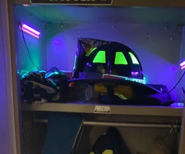 UV LED Glow-in-the-dark Decal Charger