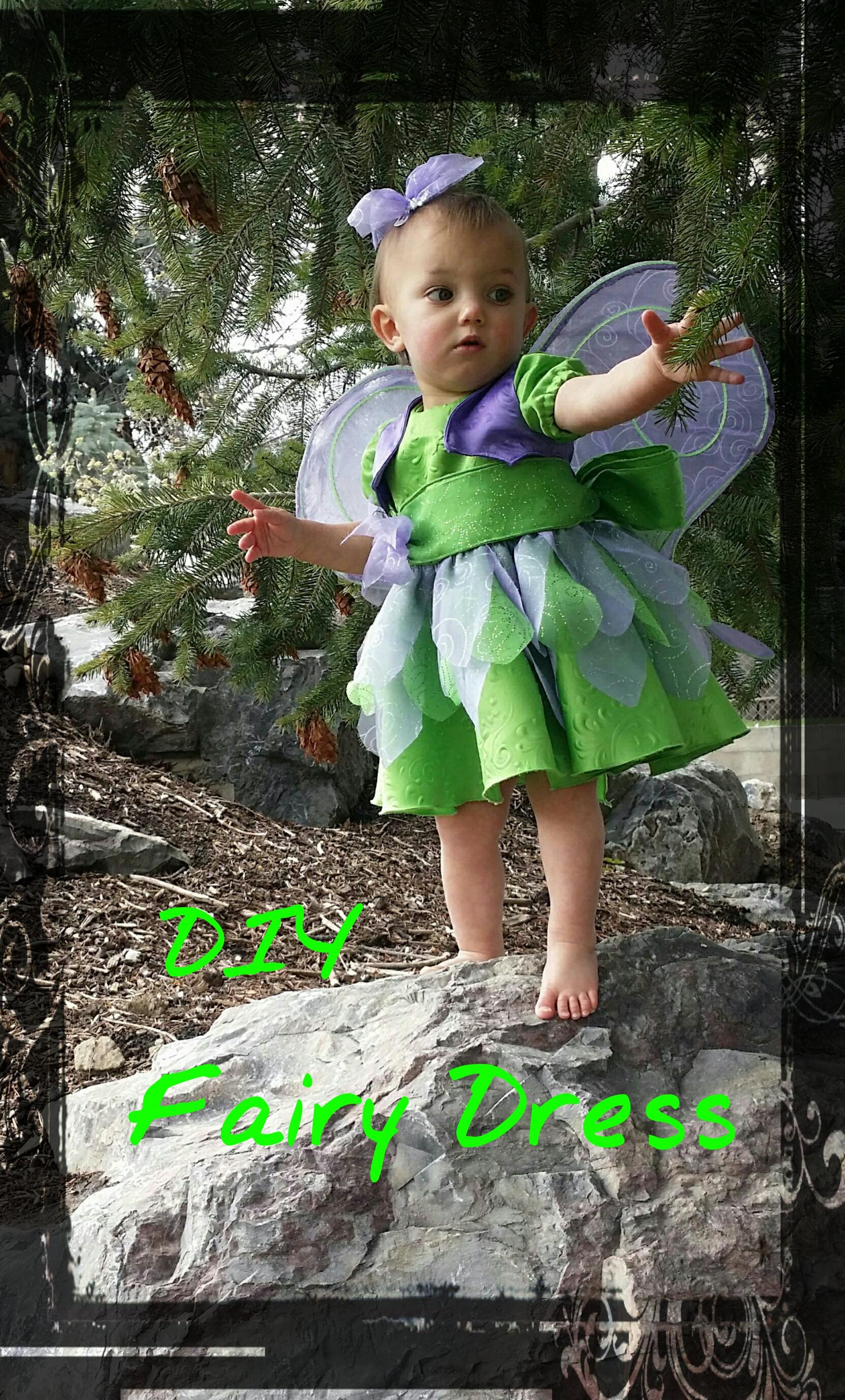 DIY Fairy Dress-up for Toddler