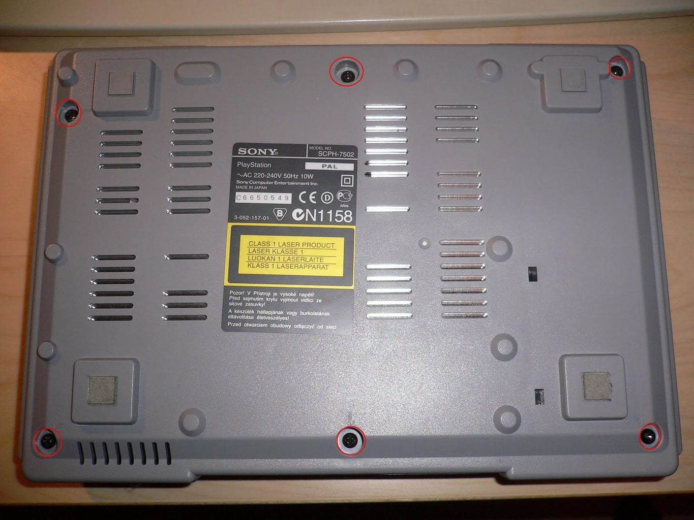 Taking Apart the PlayStation