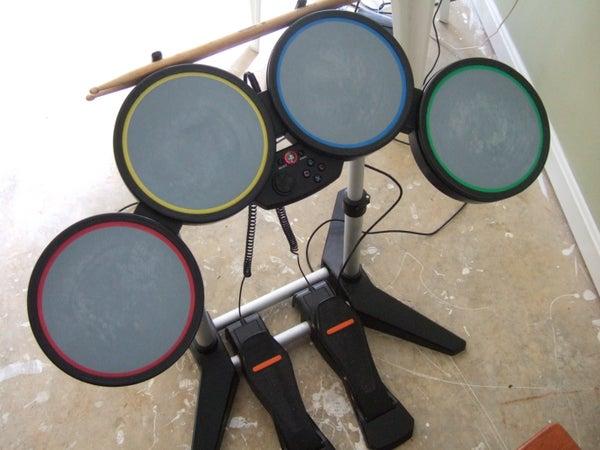 Double Base Rockband Drums