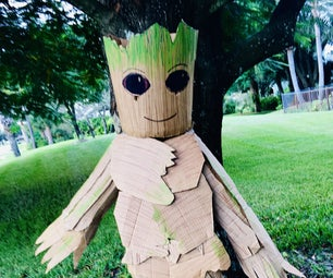 Child's Cardboard Groot