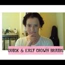 Easy Crown Braids