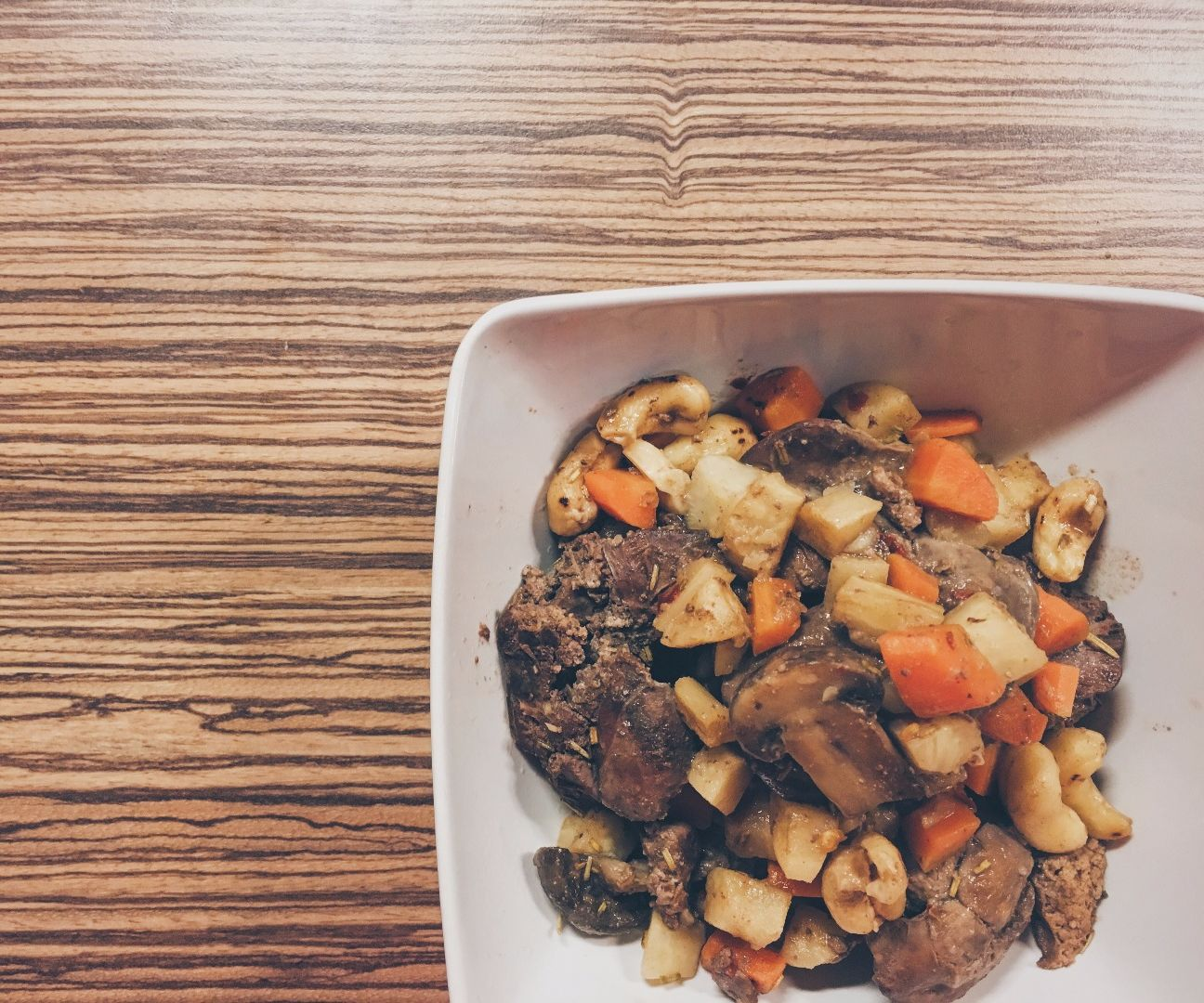 Easy Chicken Liver With Root Veggies