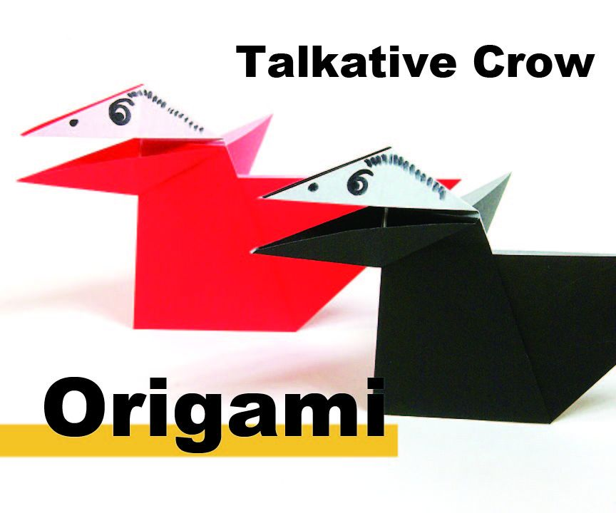How to Origami a Talking Crow