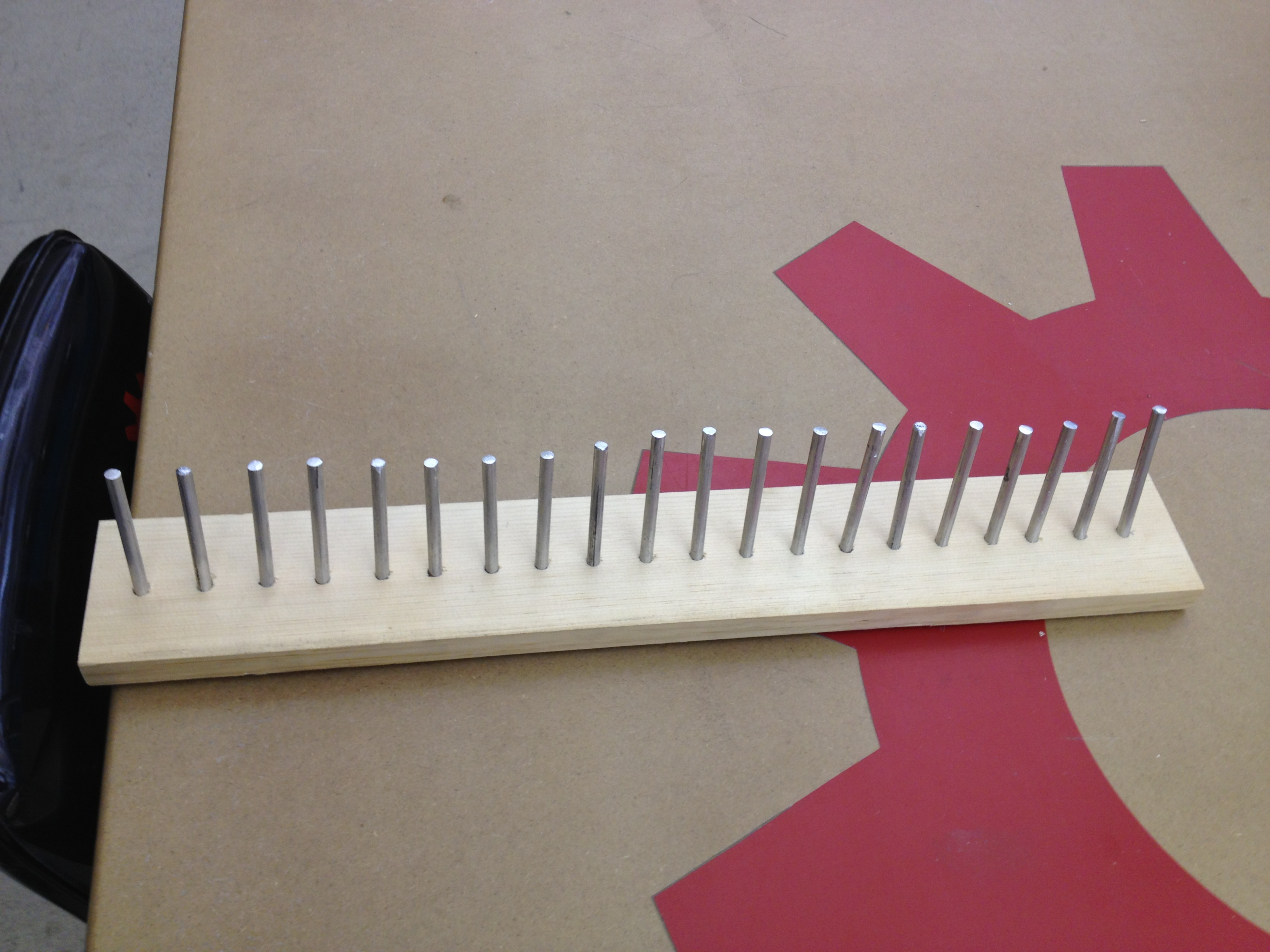 Tie Rack at TechShop
