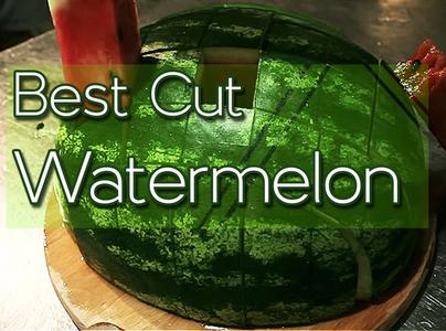 Best Cut Watermelon!
