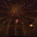 Cozy Bedroom Lighting 2 (Star LED Curtain)