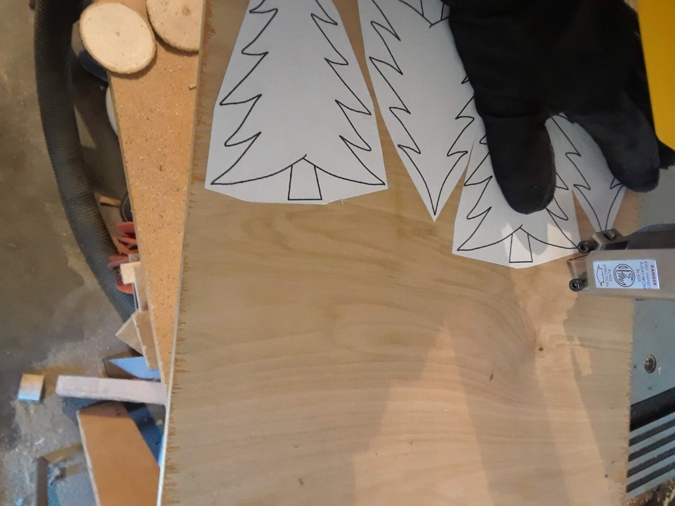 Cutting Out the Trees