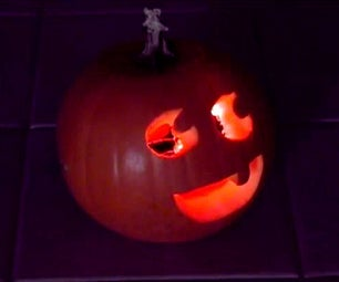 Tiny LED Jack-O'-Lantern