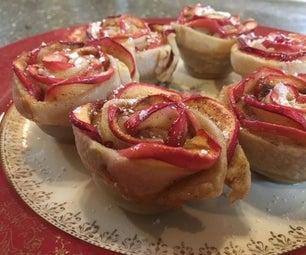 Elegant Apple Roses