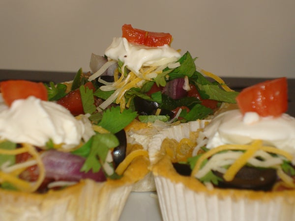 Homemade Corn Taco Bowls (Appetizers)