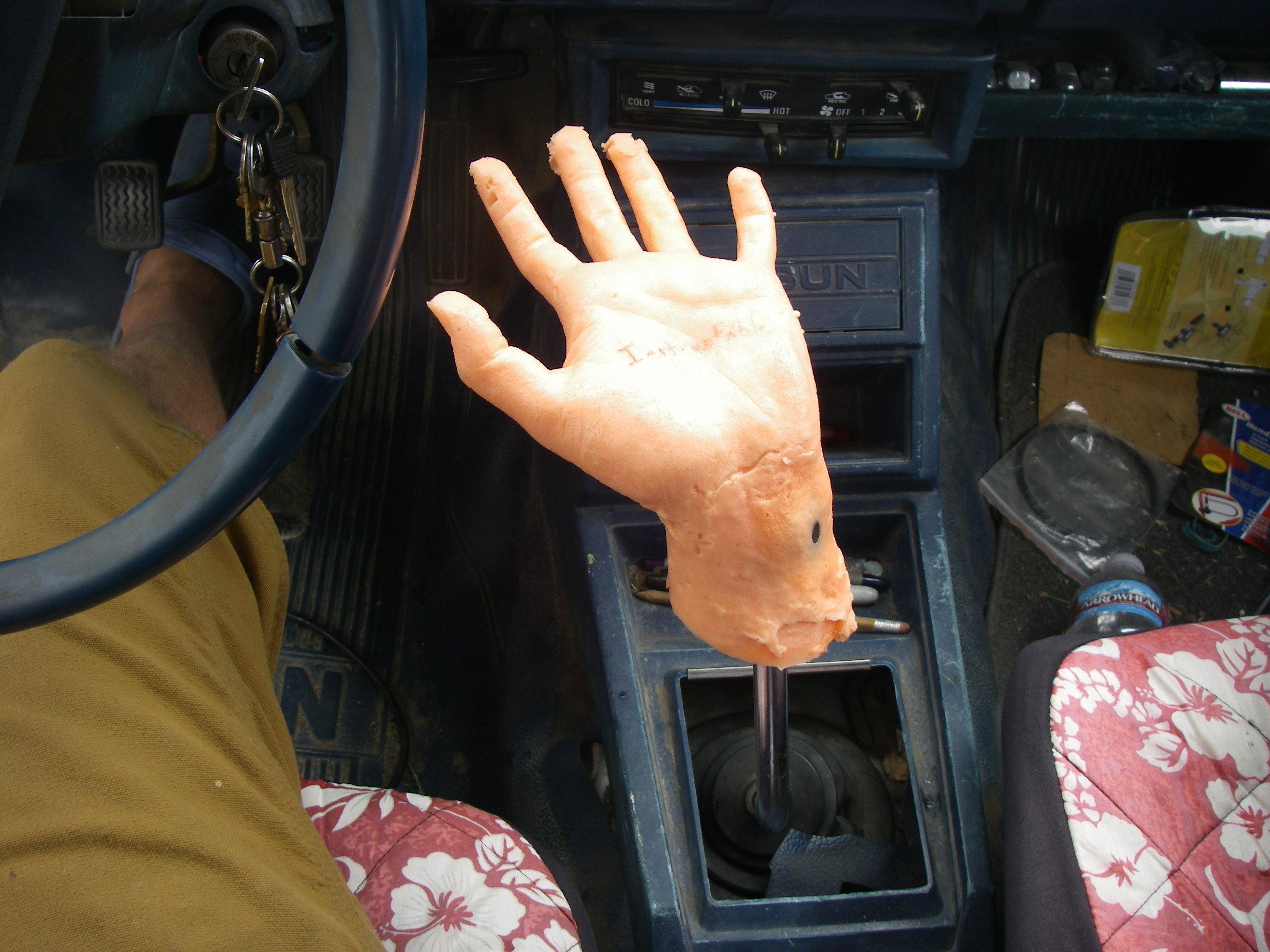 Surrealist Human Hand Stick Shifter 8 Steps With Pictures Instructables