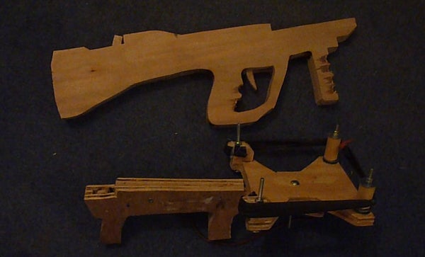 (Part 2) Making an Extremely Powerful Bullpup Slingshot Crossbow!