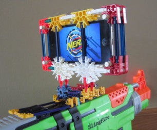 I-Sight: an Experimental K'Nerf IPod Holder With Sight