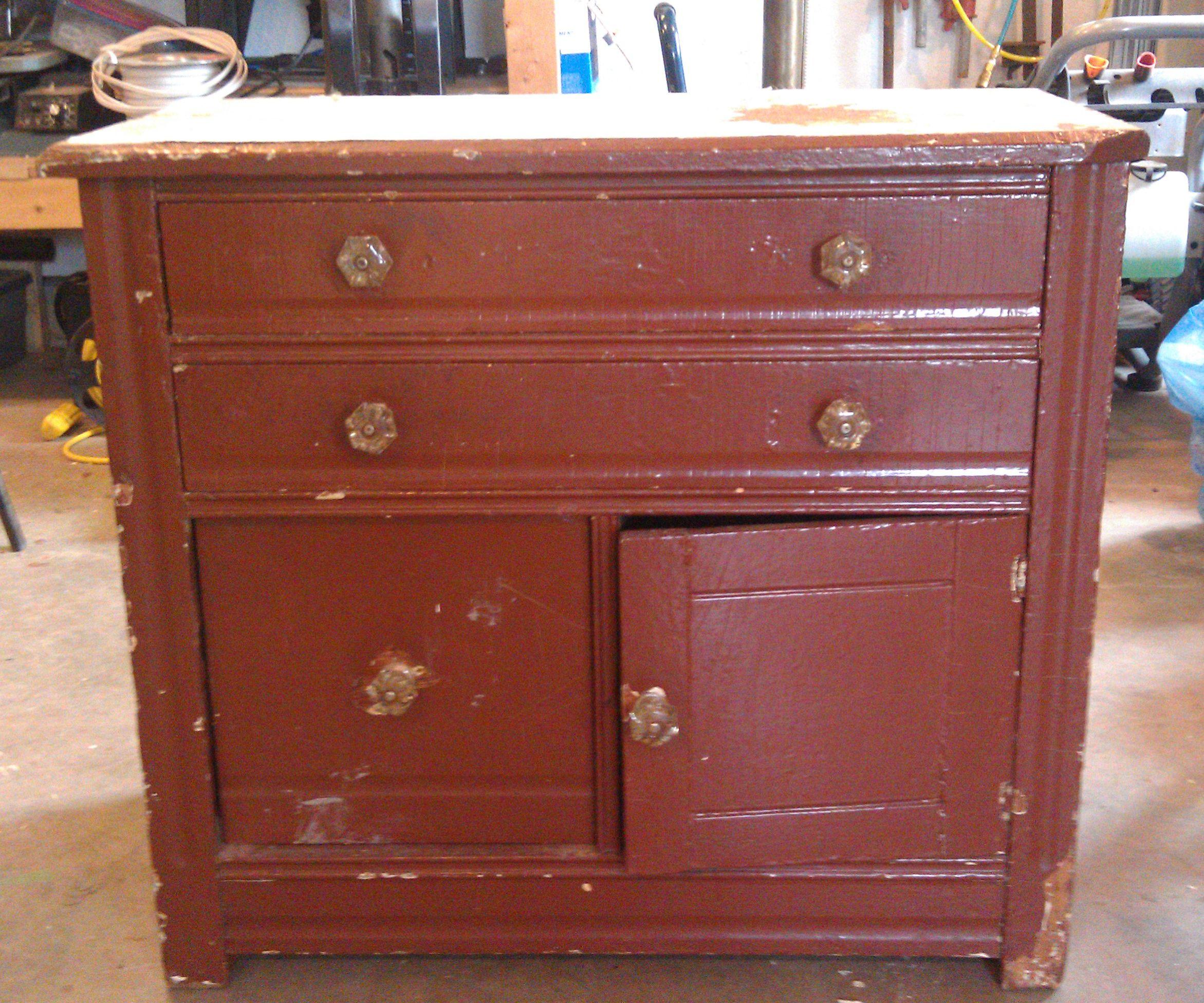 Small Cabinet Restoration