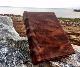 Leather-Bound Book From Scratch