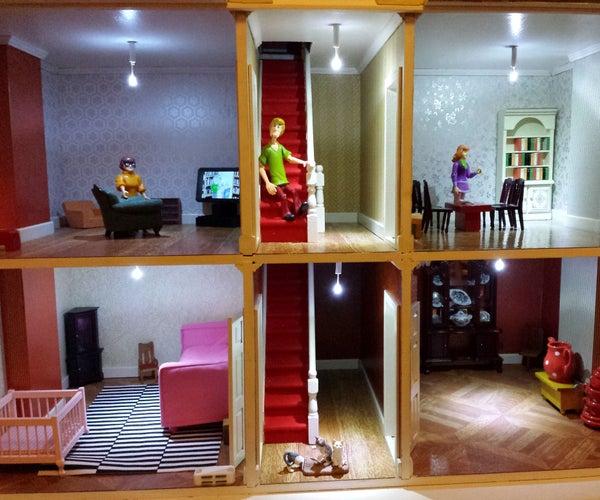 Easy LED Doll's House Lighting