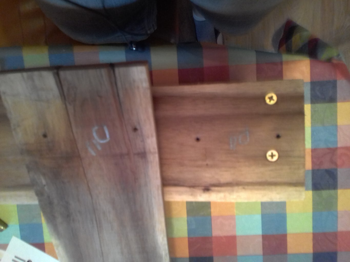 Cut Wood to Size and Drill Holes