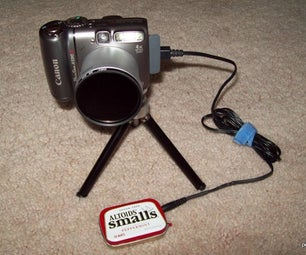 Pocket-Sized CHDK USB Camera Shutter Remote