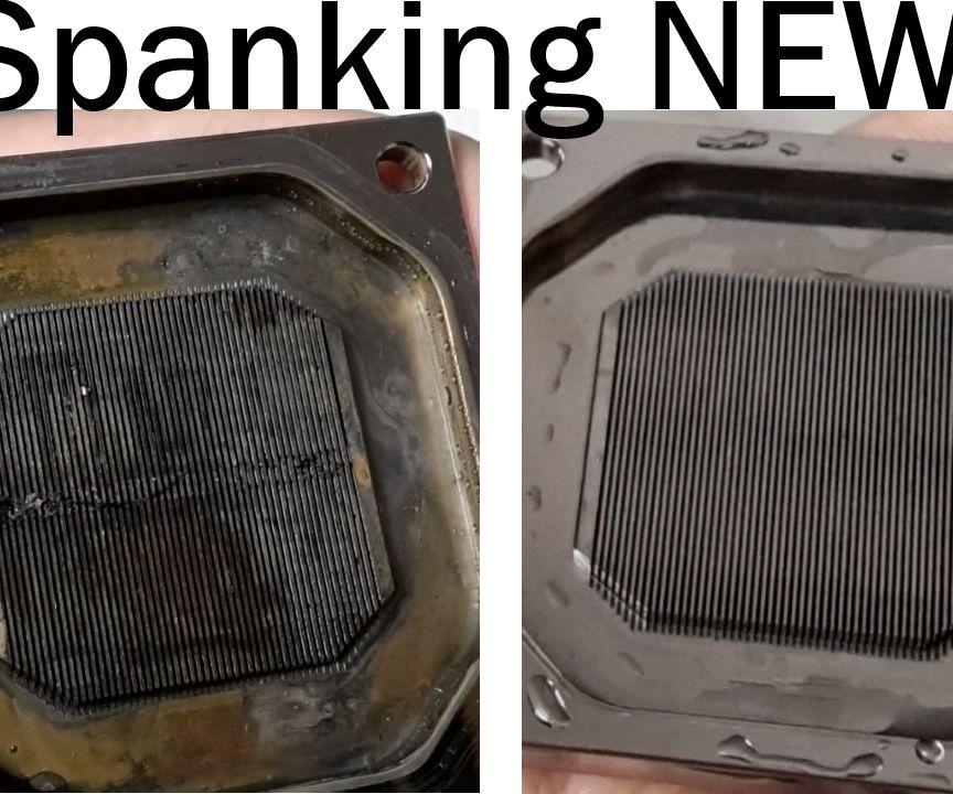 Cleaning Nickel CPU Water Block | EK-Supremacy EVO - Nickel