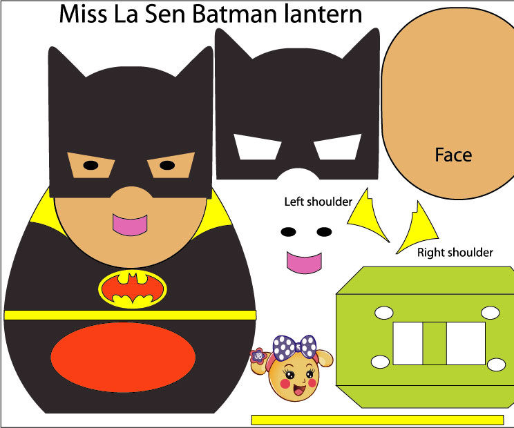 Miss La Sen Batman Lantern