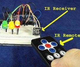 Simple Inexpensive Wireless With Any IR Remote, Including Older Discarded Ones