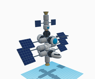 Design a Space Station With Tinkercad!