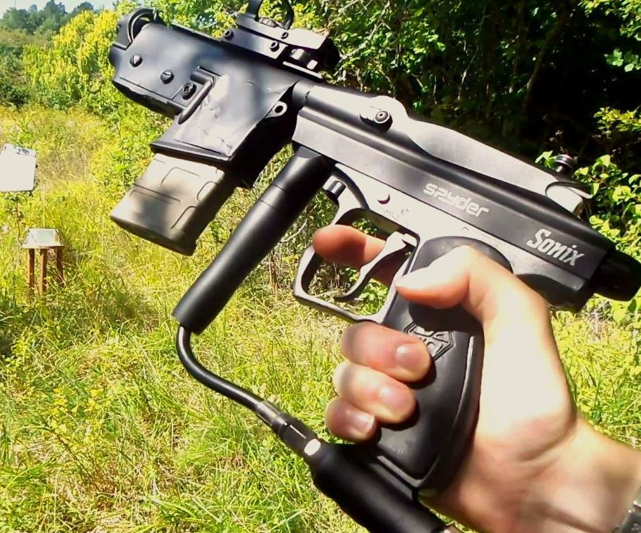 Full Auto Airsoft Gun Hi-power