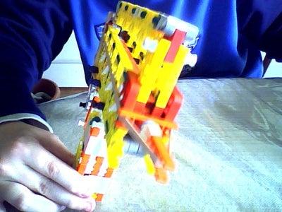 My Knex Sidearm Prototype