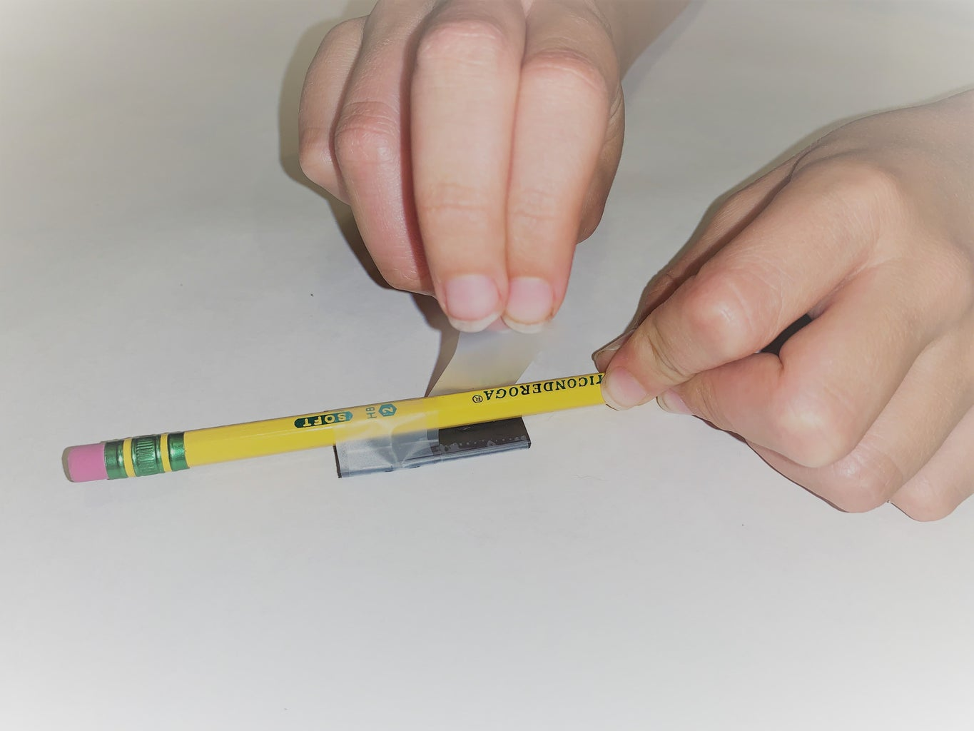 Step Six: Creating the Pencil