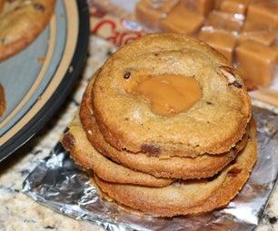 Caramel Turtle Cookies