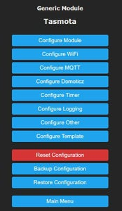Changing the Configuration
