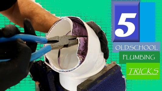 5 Old School Plumbing Tricks!