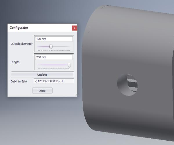 Inventor Product Configurator