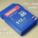 Giant 3D Printed SD Card That Works!!! (Contest Special)