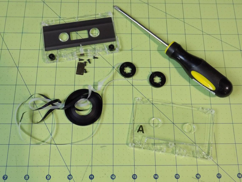 Prep Cassette Tape