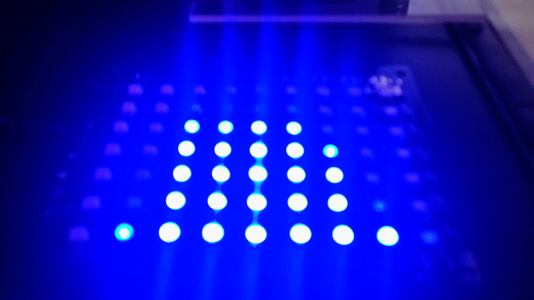 """9 Channel """"pure analog"""" graphic equalizer"""