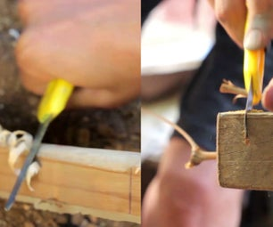 How to make a Knife and Saw for Survival