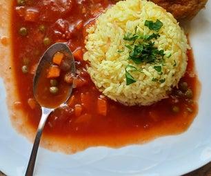 豌豆和胡萝卜炖