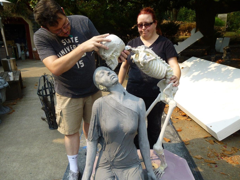 Skeleton Statue