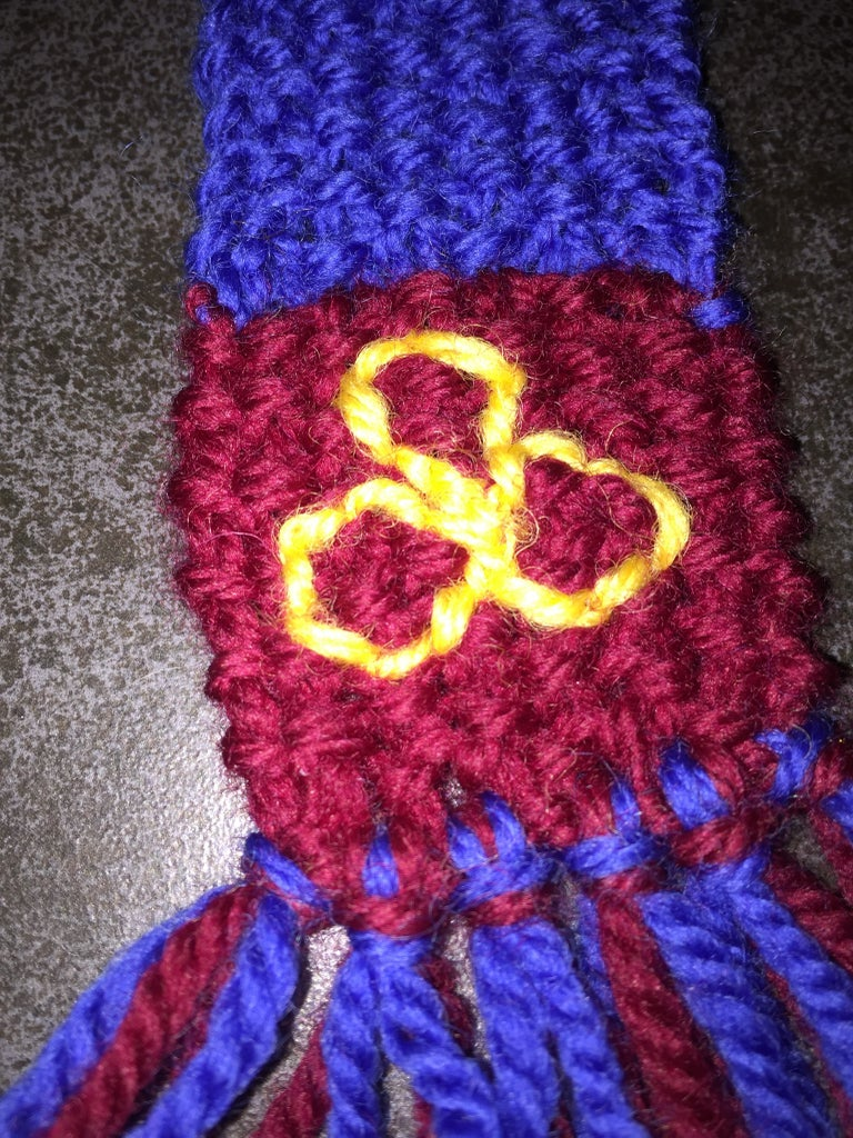 Ilvermorny School of Witchcraft and Wizardry Scarf Bookmark