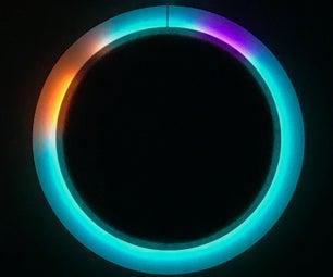 Paper Cone + Color LED Clock