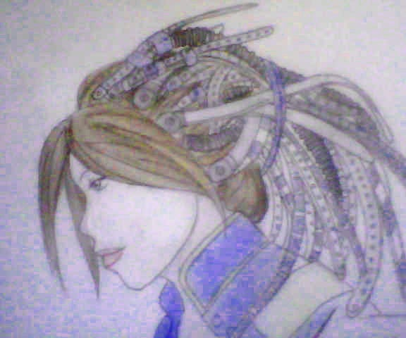 Cyberpunk Wig