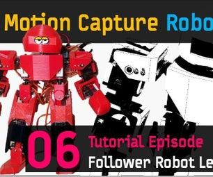 CHOOM [06] 21 Axis Humanoid (Follower) Robot