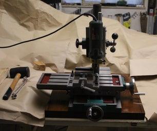 改进贫困人的铣床,用于木材(用于木制USB棒,书签等令人难以置信的酷炫的东西)