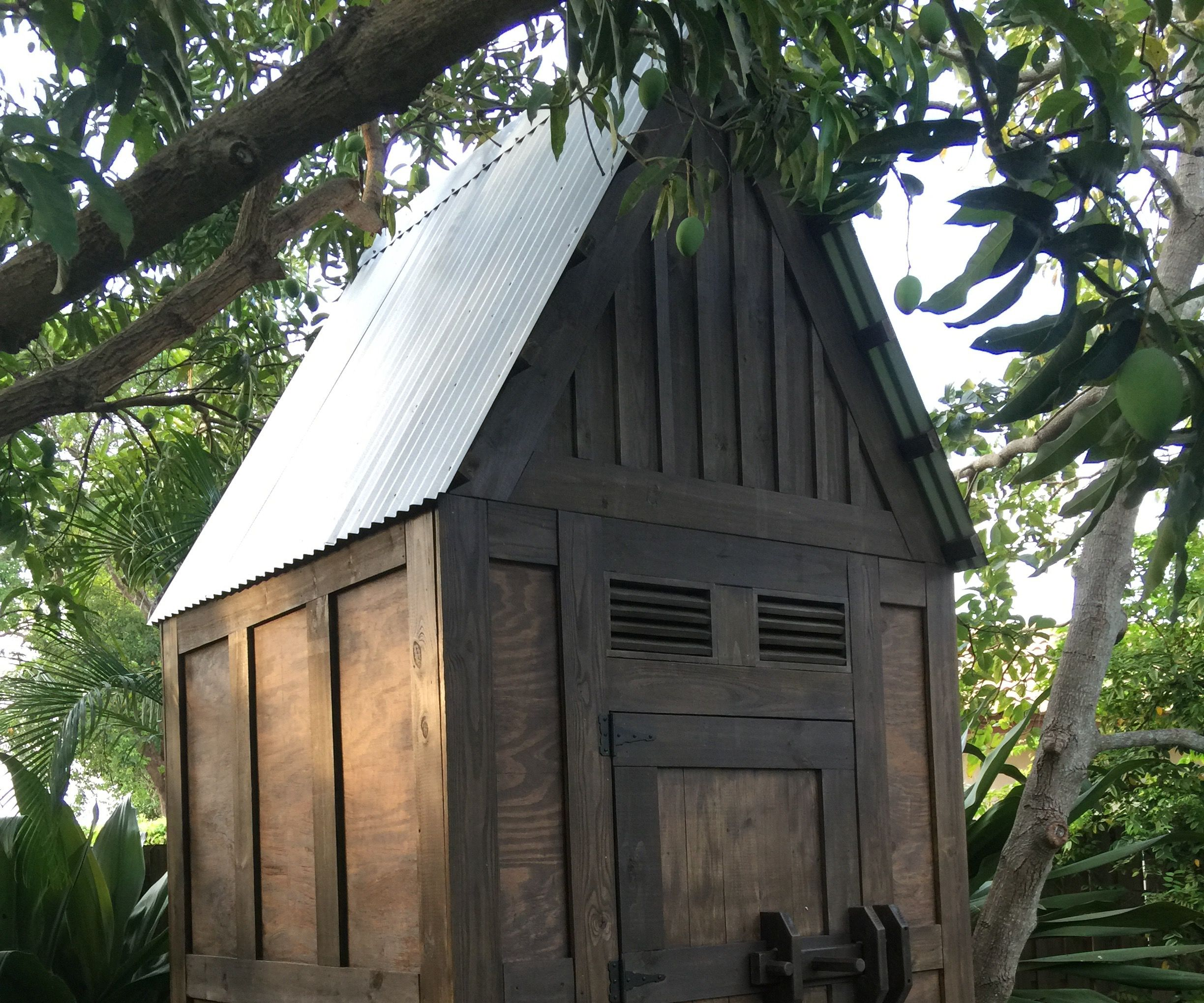 Whimsical Shed