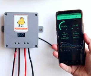 DIY Solar Panel Monitoring System - V1.0