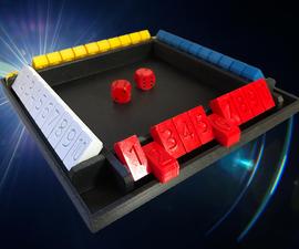Shut the Box - Family Math Game - 3D Printed