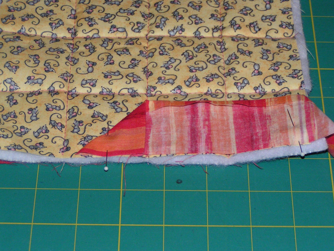 Now Quilt!  (Or Tie), Add Binding